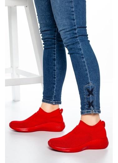 Mask Sneakers Kırmızı